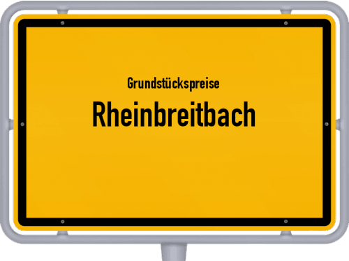 Grundstückspreise Rheinbreitbach 2019