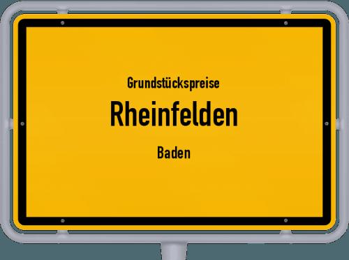 Grundstückspreise Rheinfelden (Baden) 2021