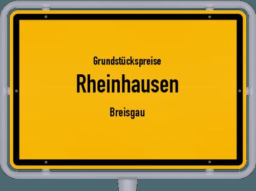 Grundstückspreise Rheinhausen (Breisgau) 2021