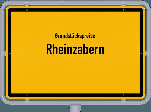 Grundstückspreise Rheinzabern 2019