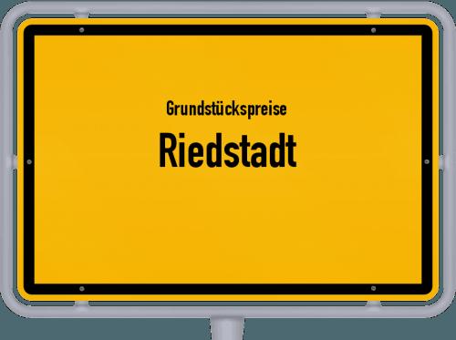 Grundstückspreise Riedstadt 2020