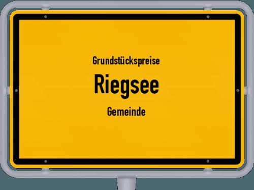 Grundstückspreise Riegsee (Gemeinde) 2021