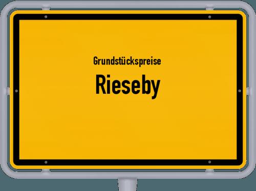 Grundstückspreise Rieseby 2021