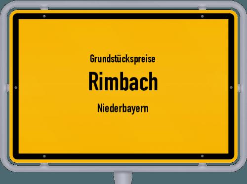 Grundstückspreise Rimbach (Niederbayern) 2019