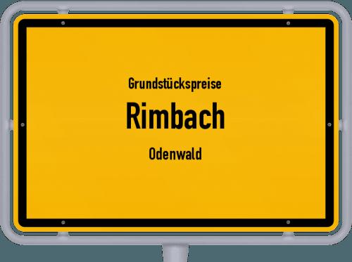 Grundstückspreise Rimbach (Odenwald) 2018