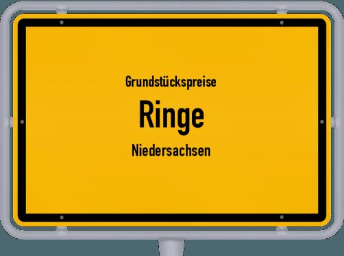 Grundstückspreise Ringe (Niedersachsen) 2021