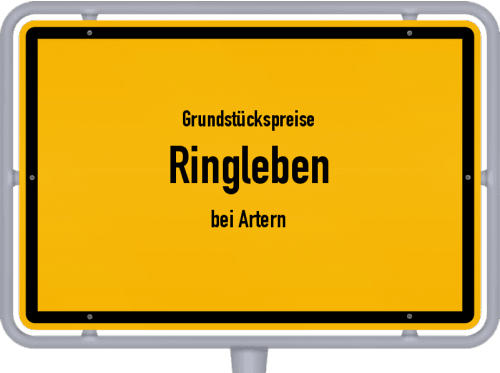 Grundstückspreise Ringleben (bei Artern) 2019