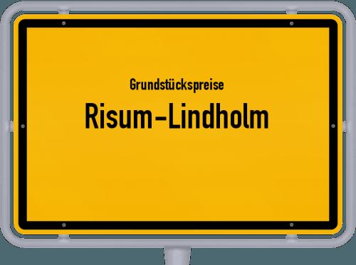 Grundstückspreise Risum-Lindholm 2021