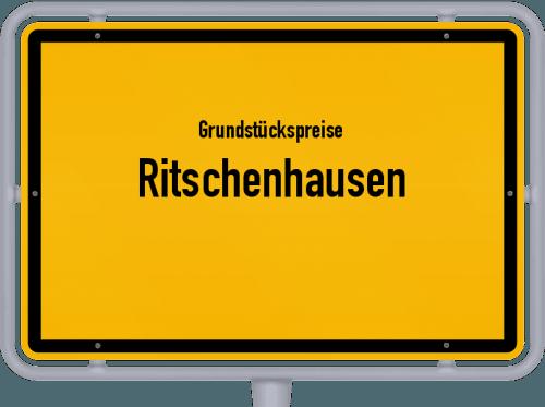 Grundstückspreise Ritschenhausen 2019
