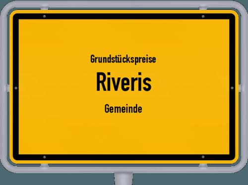 Grundstückspreise Riveris (Gemeinde) 2019