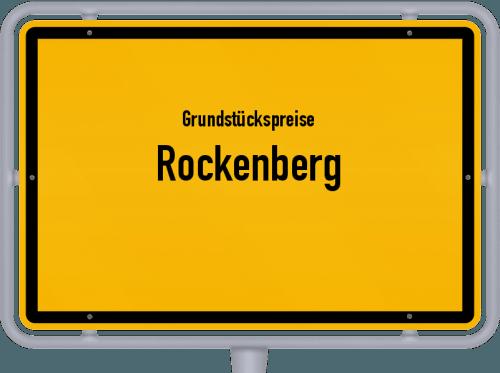 Grundstückspreise Rockenberg 2019