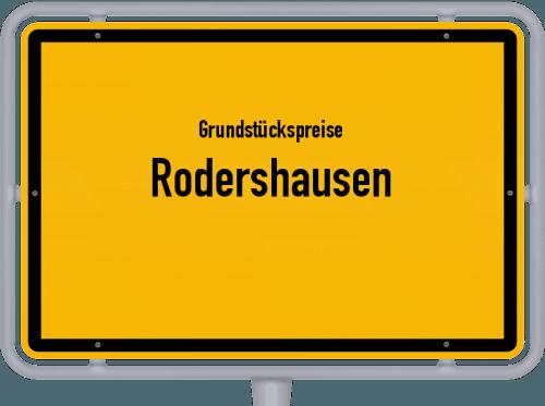Grundstückspreise Rodershausen 2019