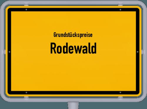 Grundstückspreise Rodewald 2021
