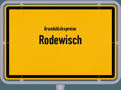 Grundstückspreise Rodewisch 2019