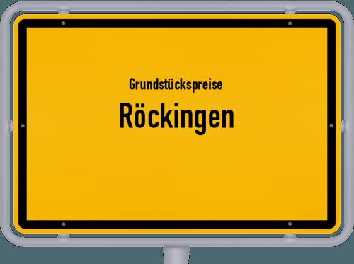 Grundstückspreise Röckingen 2019