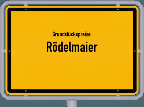 Grundstückspreise Rödelmaier 2019
