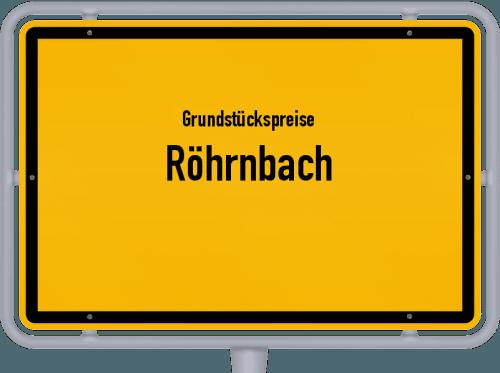 Grundstückspreise Röhrnbach 2021