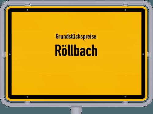 Grundstückspreise Röllbach 2019