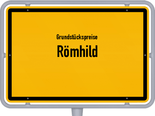 Grundstückspreise Römhild 2019