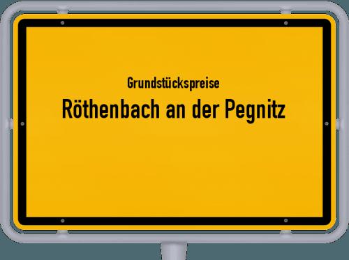 Grundstückspreise Röthenbach an der Pegnitz 2020