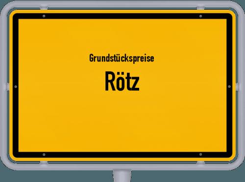 Grundstückspreise Rötz 2019