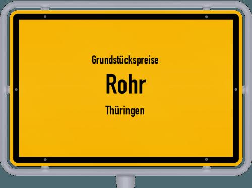 Grundstückspreise Rohr (Thüringen) 2019