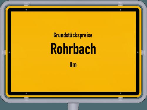 Grundstückspreise Rohrbach (Ilm) 2019