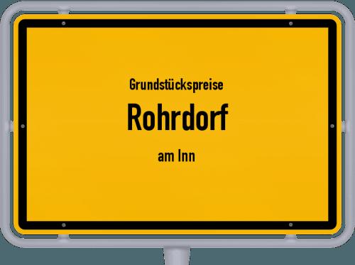 Grundstückspreise Rohrdorf (am Inn) 2019