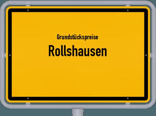 Grundstückspreise Rollshausen 2021