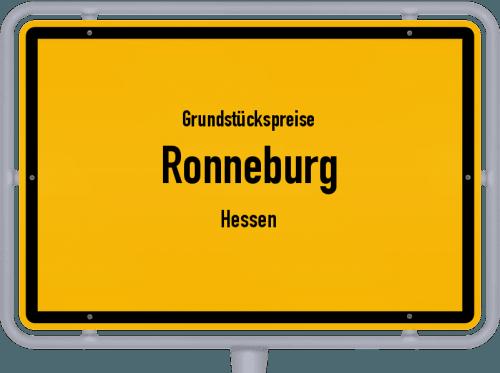 Grundstückspreise Ronneburg (Hessen) 2019