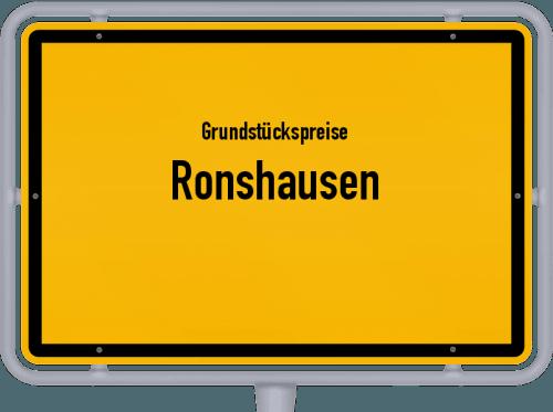 Grundstückspreise Ronshausen 2018
