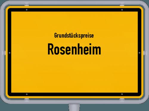 Grundstückspreise Rosenheim 2021