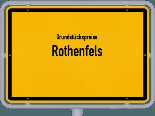 Grundstückspreise Rothenfels 2019