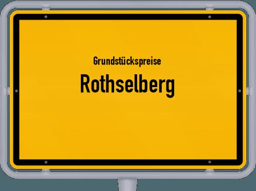 Grundstückspreise Rothselberg 2019