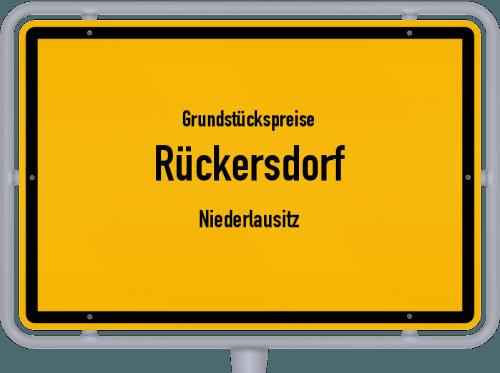 Grundstückspreise Rückersdorf (Niederlausitz) 2021