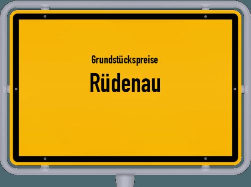 Grundstückspreise Rüdenau 2021
