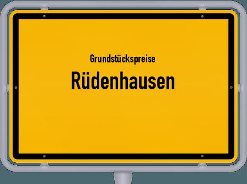 Grundstückspreise Rüdenhausen 2019