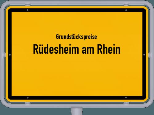Grundstückspreise Rüdesheim am Rhein 2020
