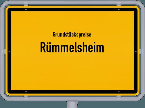 Grundstückspreise Rümmelsheim 2019