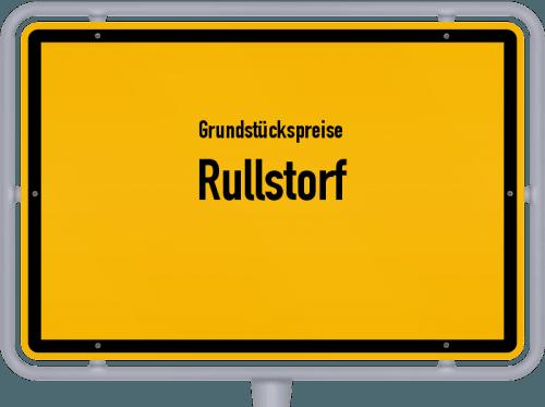 Grundstückspreise Rullstorf 2021