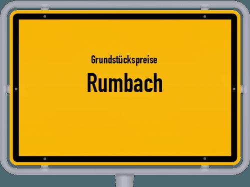 Grundstückspreise Rumbach 2019