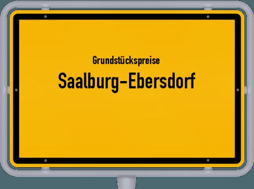 Grundstückspreise Saalburg-Ebersdorf 2019