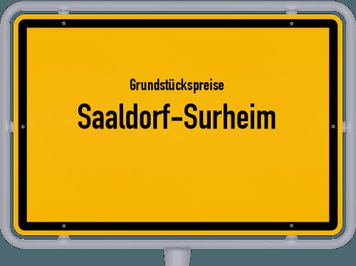 Grundstückspreise Saaldorf-Surheim 2019