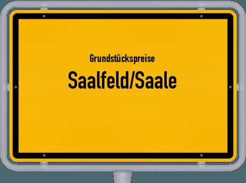 Grundstückspreise Saalfeld/Saale 2019