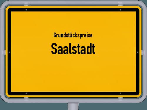 Grundstückspreise Saalstadt 2019