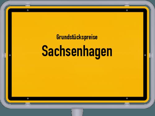 Grundstückspreise Sachsenhagen 2021