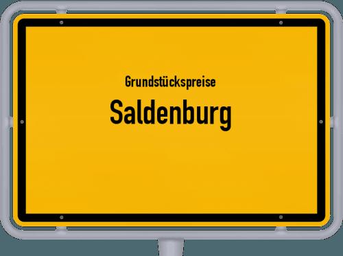 Grundstückspreise Saldenburg 2021