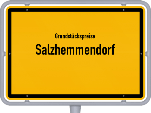 Grundstückspreise Salzhemmendorf 2021
