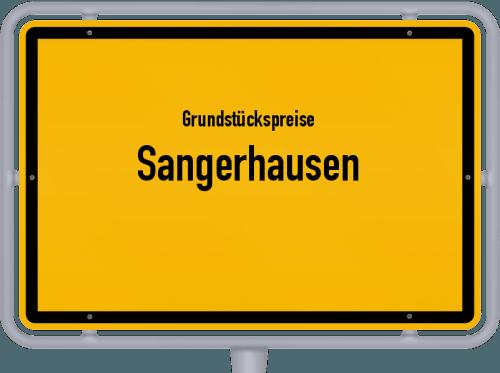 Grundstückspreise Sangerhausen 2021