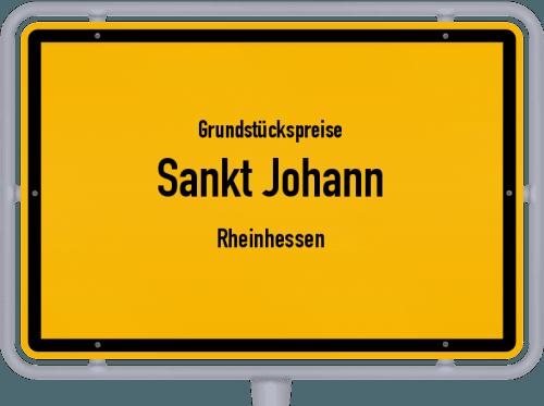Grundstückspreise Sankt Johann (Rheinhessen) 2019
